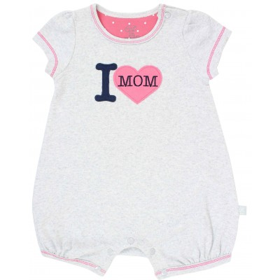Baby Romper I love Mom