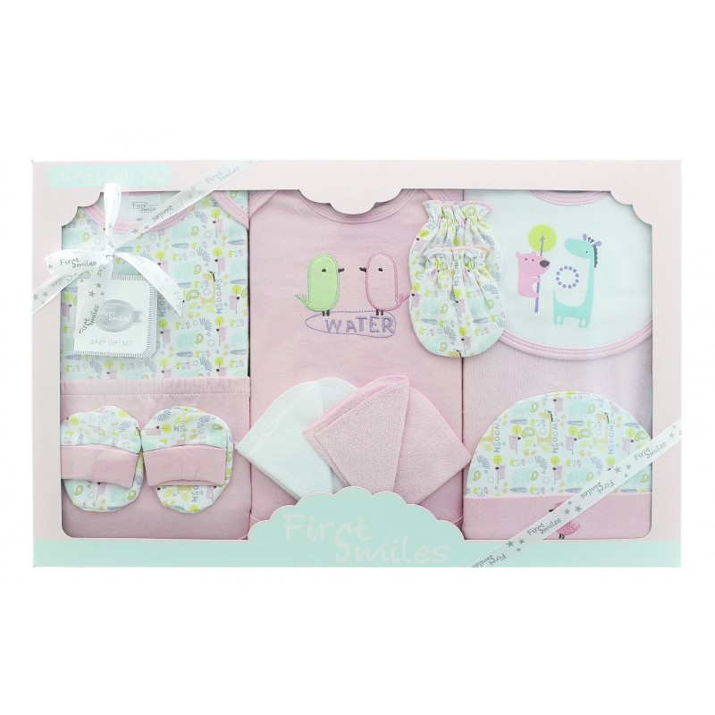 Baby Gift Set Zwitsal : Baby bodysuit pieces gift set for sets