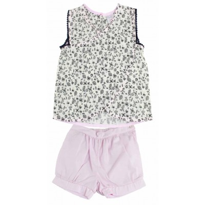 A023/024 - GIRLS FASHION TOP & SHORTS