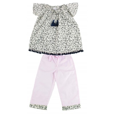 Lilsoft baby Girls fashion Top & Pant