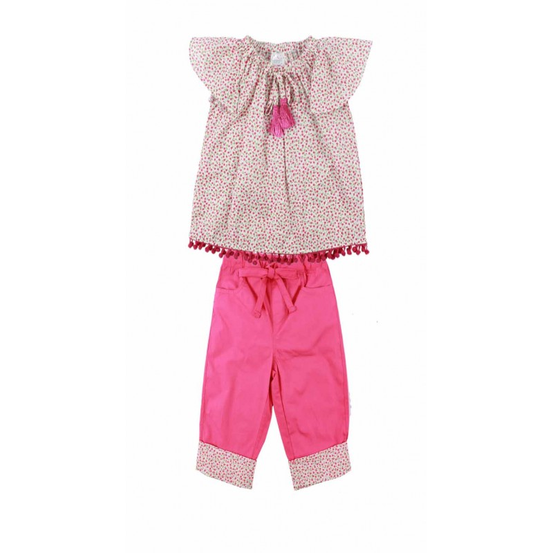 GIRLS FASHION TOP & PANT