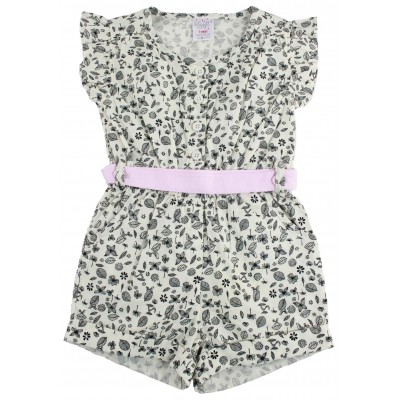 GIRLS SHORT ROMPER