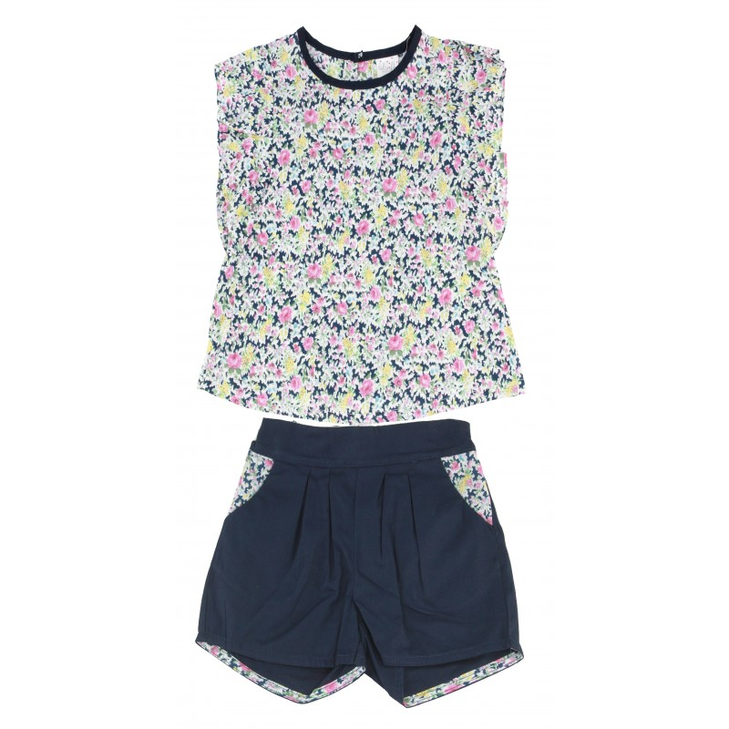 GIRLS FASHION TOP & SHORT