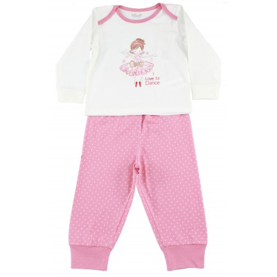 Infant Girls Pajamas PJ Set