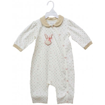 SLEEPSUIT WITH COLLER & EMB