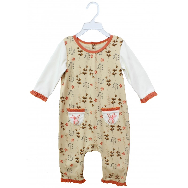 SLEEPSUIT WITH POCKET