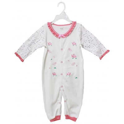 SLEEPSUIT WITH EMB
