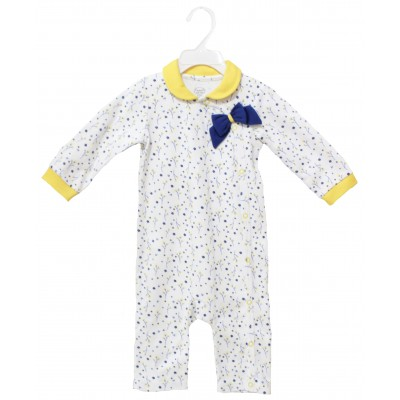 SLEEPSUIT WITH COLLER