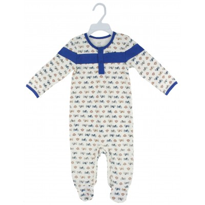 SLEEPSUIT WITH FOOT