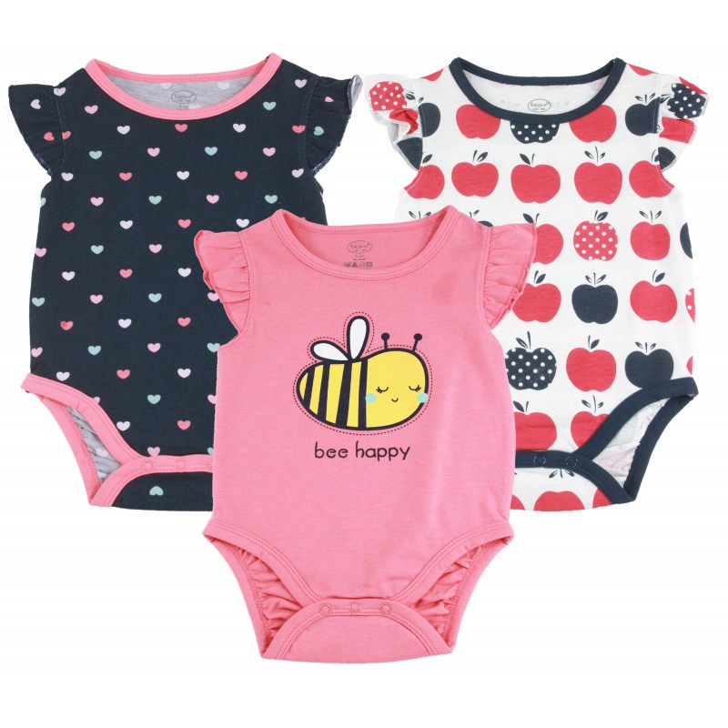 1PCS S/L BODYSUIT