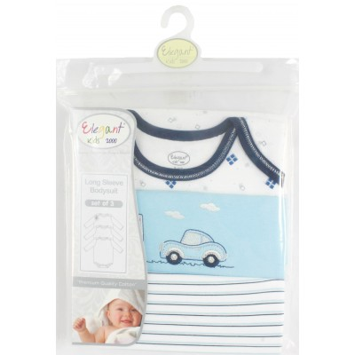 Elegant kids 3 PACK LONG BODYSUIT