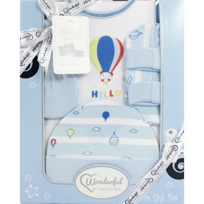WONDERFUL MEMORIES 4 PCS BABY GIFT SET