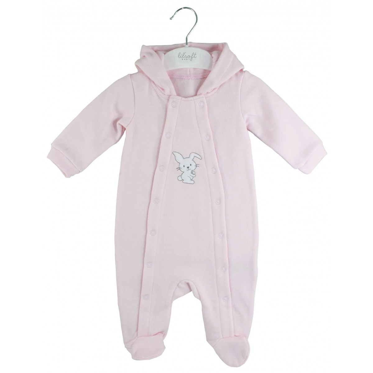 e4cd4205bb01 LILSOFT BABY HOODED SLEEPSUIT for Lilsoft Baby