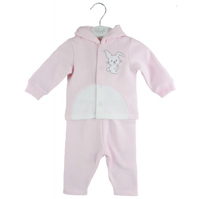 LILSOFT BABY HOODED PYJAMAS SET