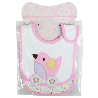 2 BIB VELCRO BIB WITH PVC PP POLYBAG
