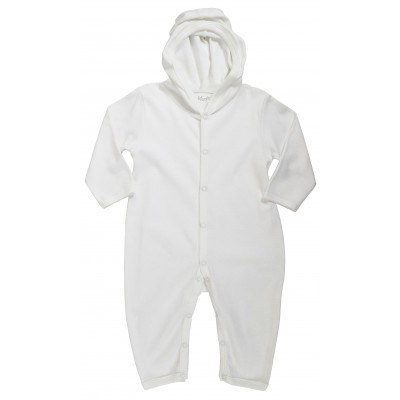 JUMPSUIT WITH HOOD