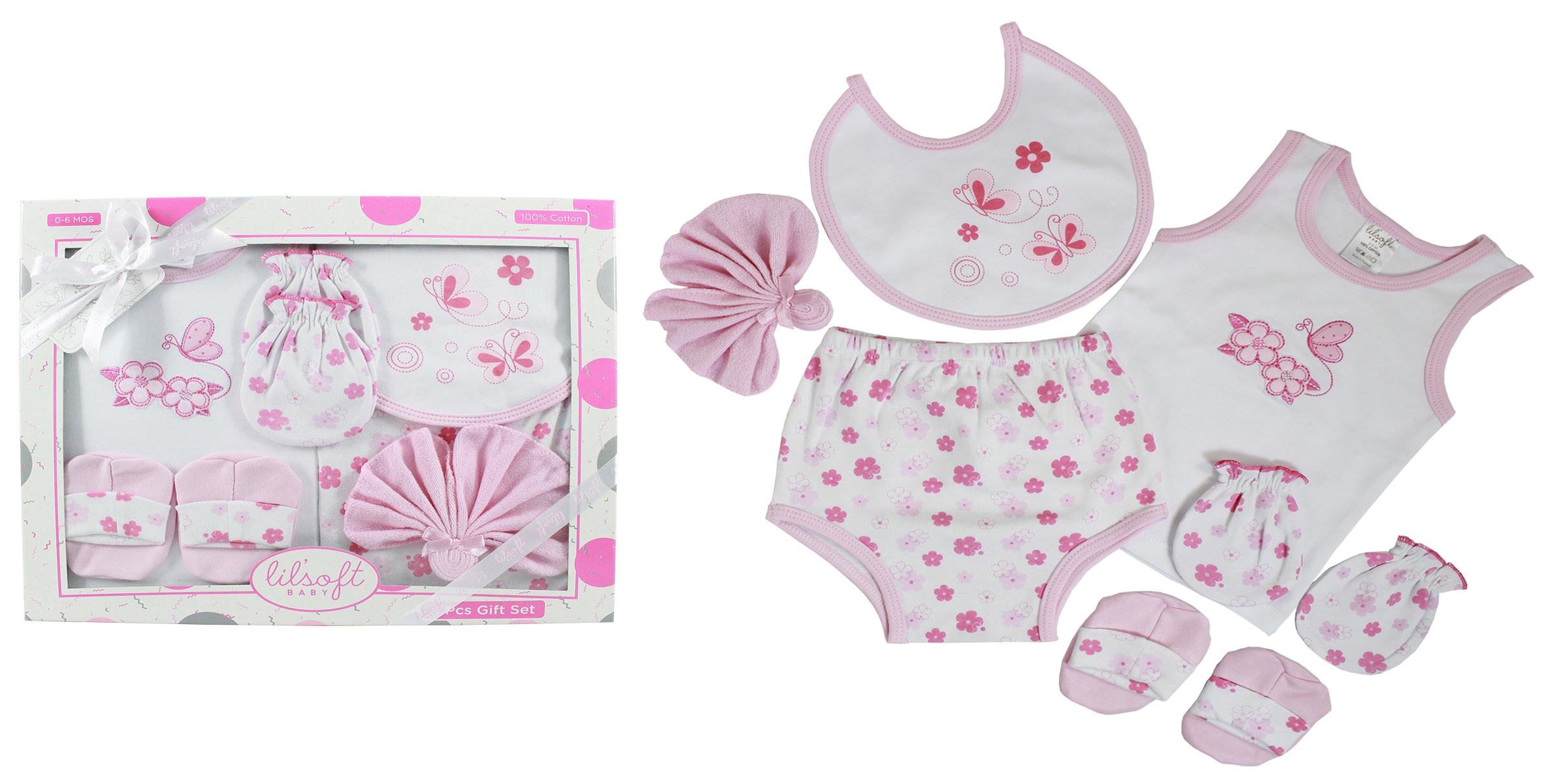 Baby Gift Sets For Twins : Pcs baby gift set lilsoft