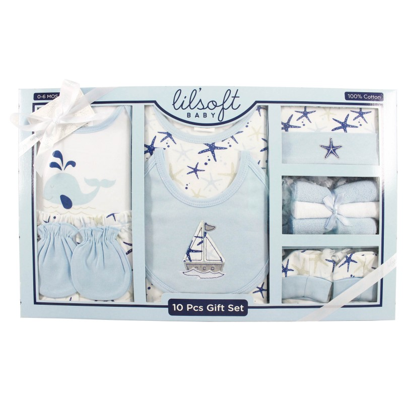 Firstcry Baby Gift Sets : Pcs baby gift set lilsoft