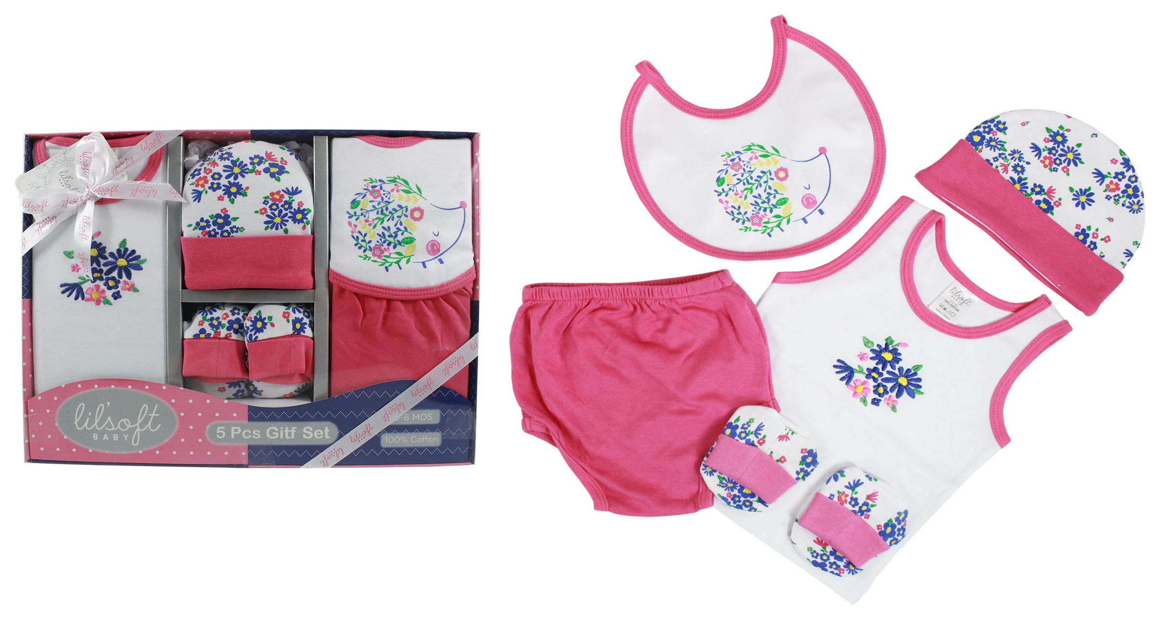 Firstcry Baby Gift Sets : Baby tank top pieces gift set for sets