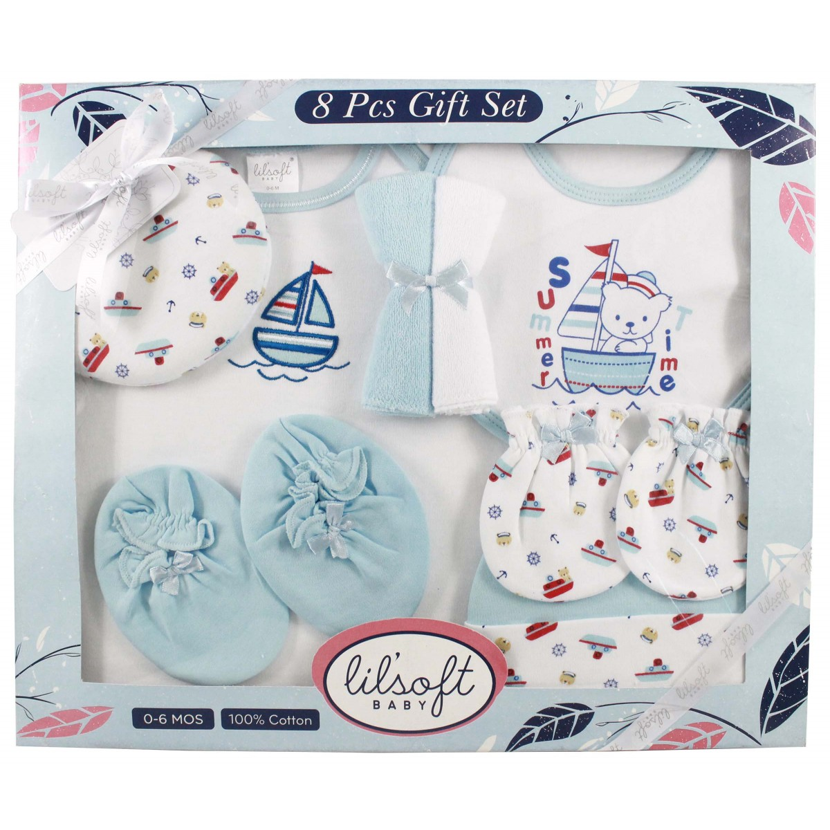 Previous  sc 1 st  Lilsoft Baby & 8 PCS GIFT SET for Gift Sets