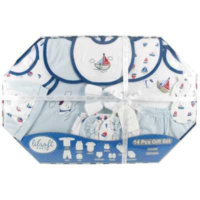 Lilsoft Baby Bodysuit 14 Pcs Gift Set