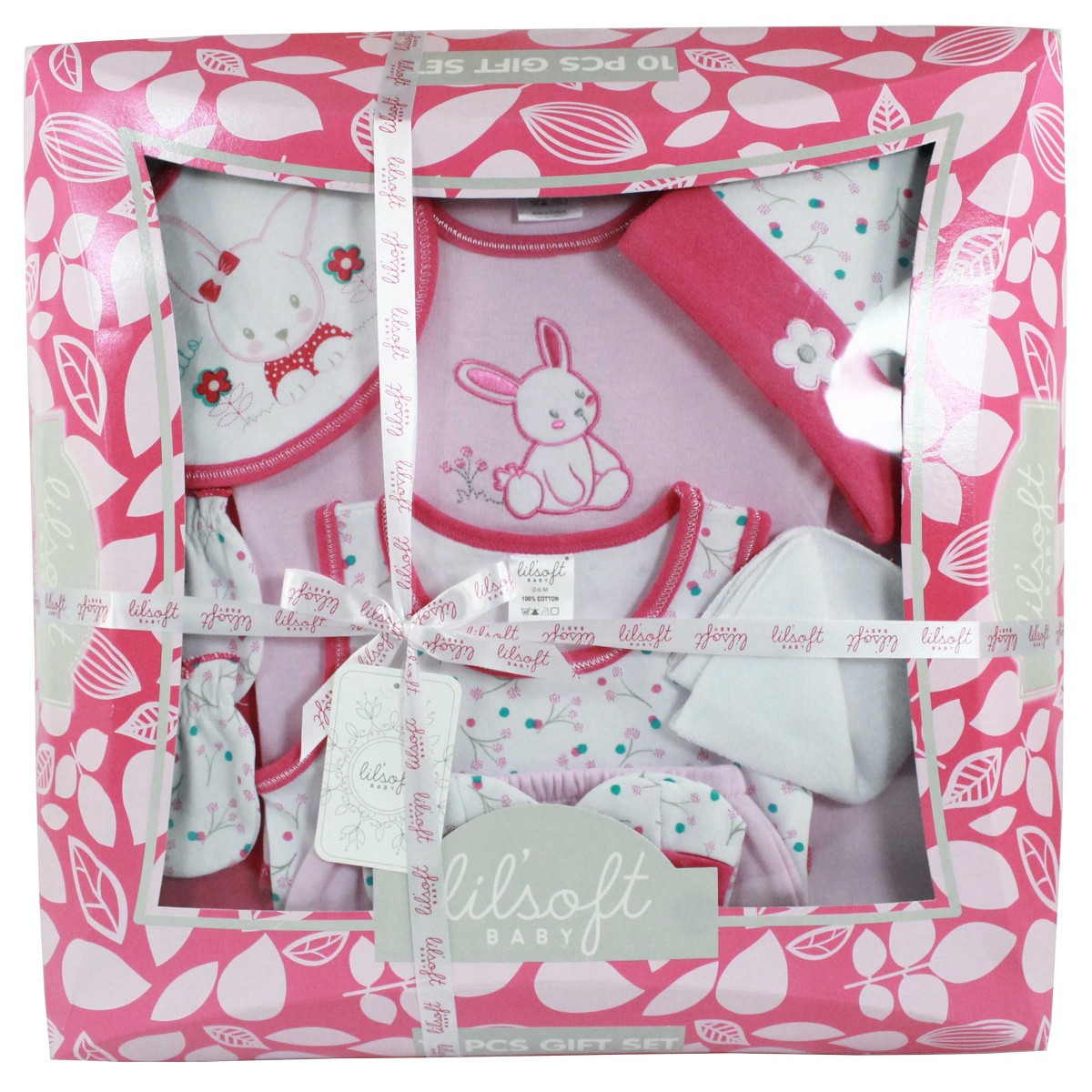 Baby Gift Set 11 Pieces : Baby bodysuit pieces gift set for lilsoft