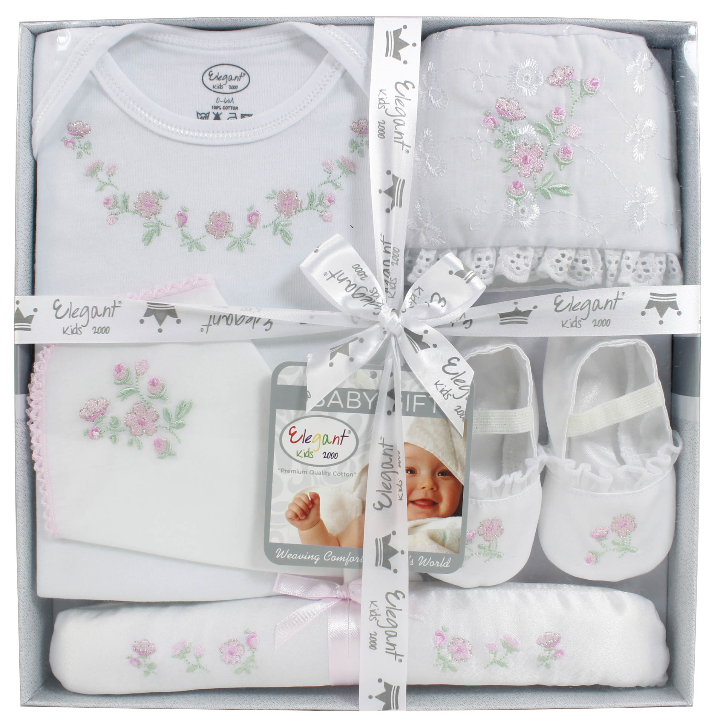 Firstcry Baby Gift Sets : Elegant kids bodysuit pcs baby gift set for sets