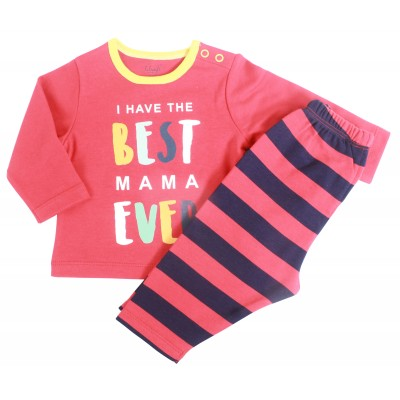 INFANT BOYS - 2 PCS PYJAMA SET