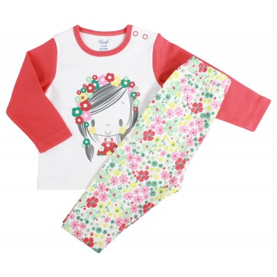 INFANT GIRLS - 2 PCS PYJAMA SET