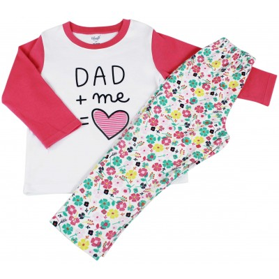 TODDLER GIRLS - 2 PCS PYJAMA SET
