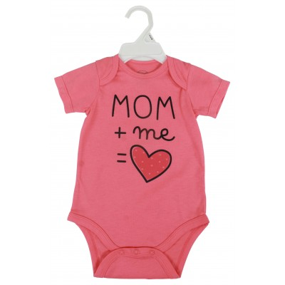 1PCS S/S BODYSUIT