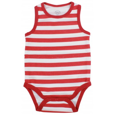 3PCS S/L BODYSUIT IN POLY BAG
