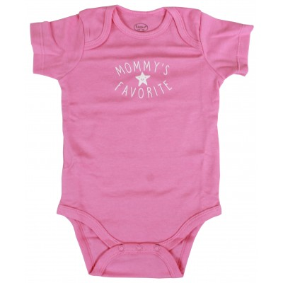 5PCS S/S BODYSUIT IN POLY BAG