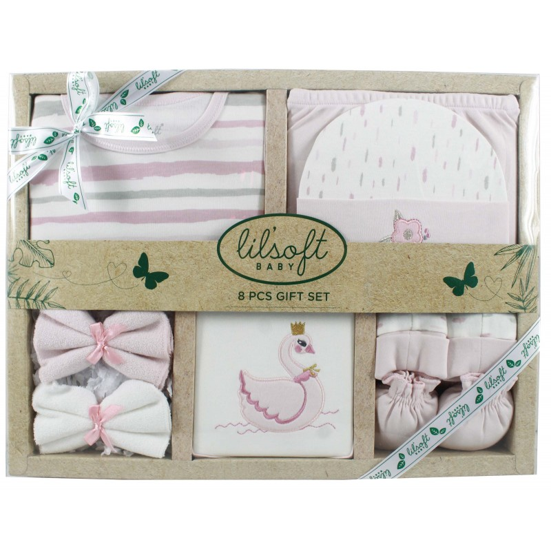8 pcs baby gift set for gift sets