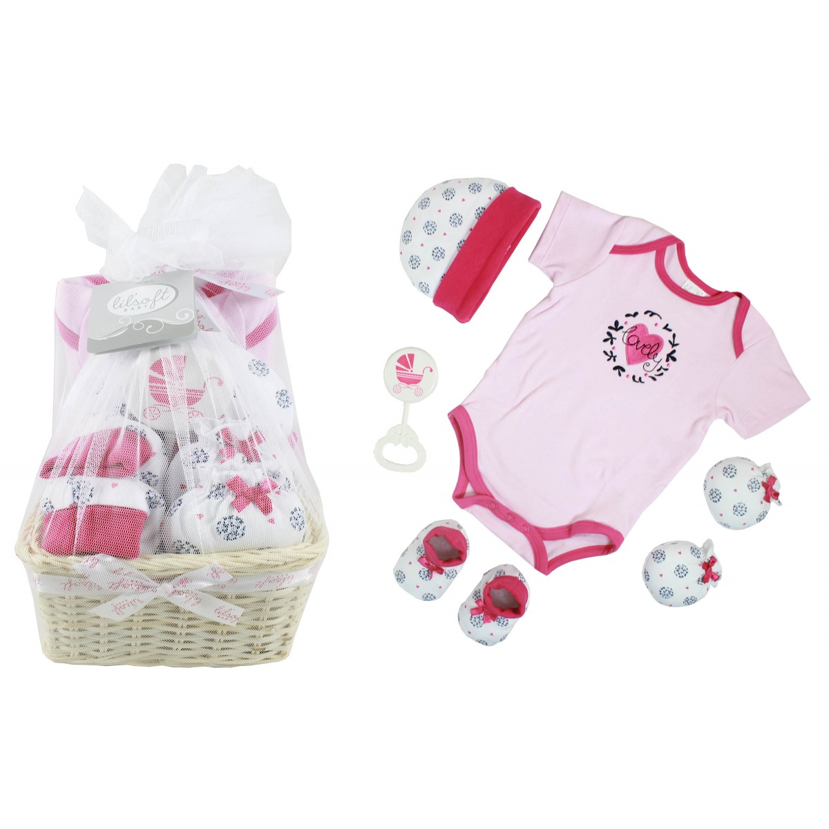 Baby Gift Sets Us : Baby gift basket pieces for sets