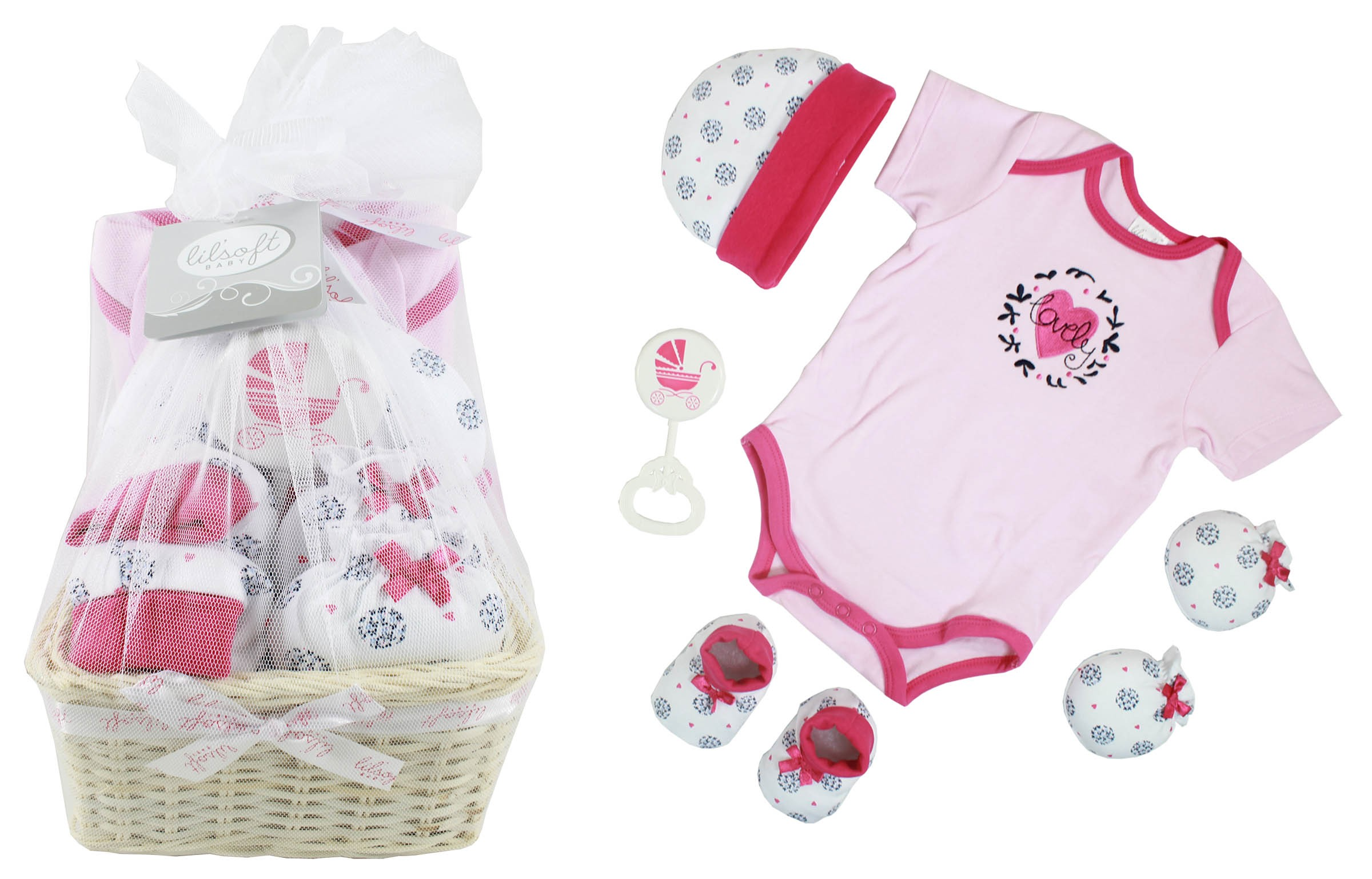 Firstcry Baby Gift Sets : Baby gift basket pieces for sets
