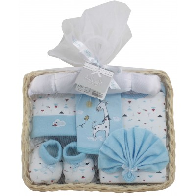 Baby Gift Basket 7 Pieces