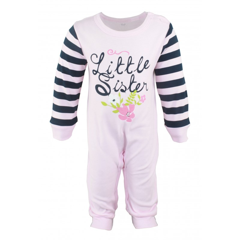 e0f3ac3be1a3e INFANT GIRL S COVEREALL - Lilsoft Baby