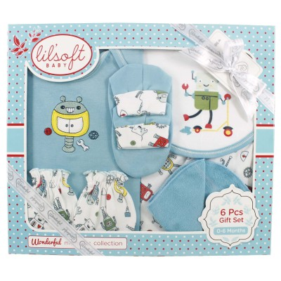 T Shirt Diaper Cover 6 Pieces Set