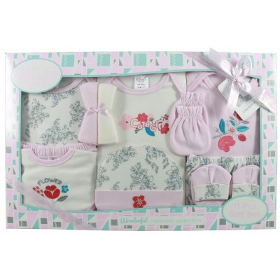 11 Pieces Baby Basics Set