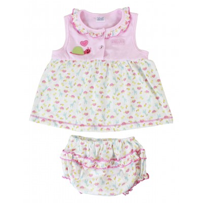 Dress with Diaper Cover