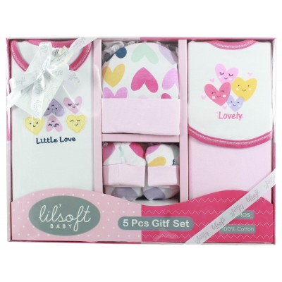 Lilsoft baby Tank-Top 5 Pcs Gift Set