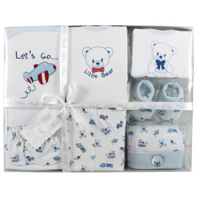 Lilsoft baby Long Bodysuit 7 Pcs Gift Set