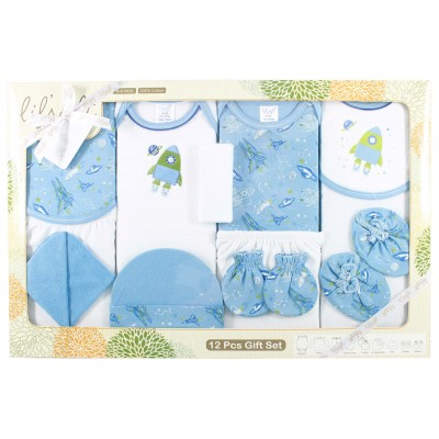 LILSOFT BABY 12 PCS GIFT SET