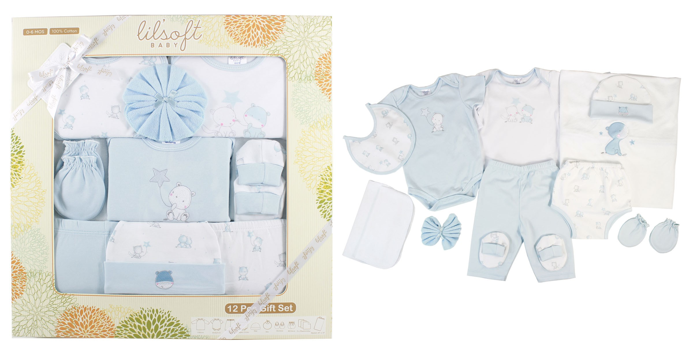 4472b66291e 12 PCS BABY GIFT SET for Gift Sets