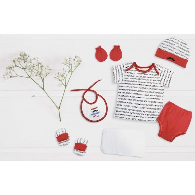 WONDERFUL MEMORIES 8 PCS BABY GIFT SET