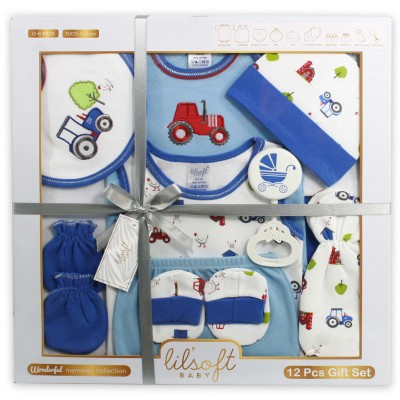 Wonderful Memories Baby Basics 12 Pcs Gift Set
