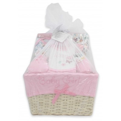 11 PCS BABY BASKET GIFT SET
