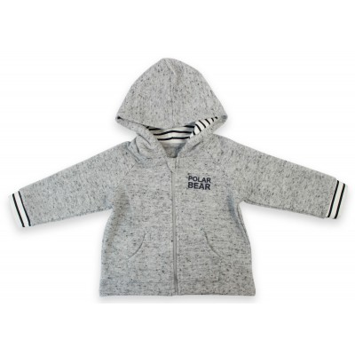 1 PC L/S Hooded Jacket