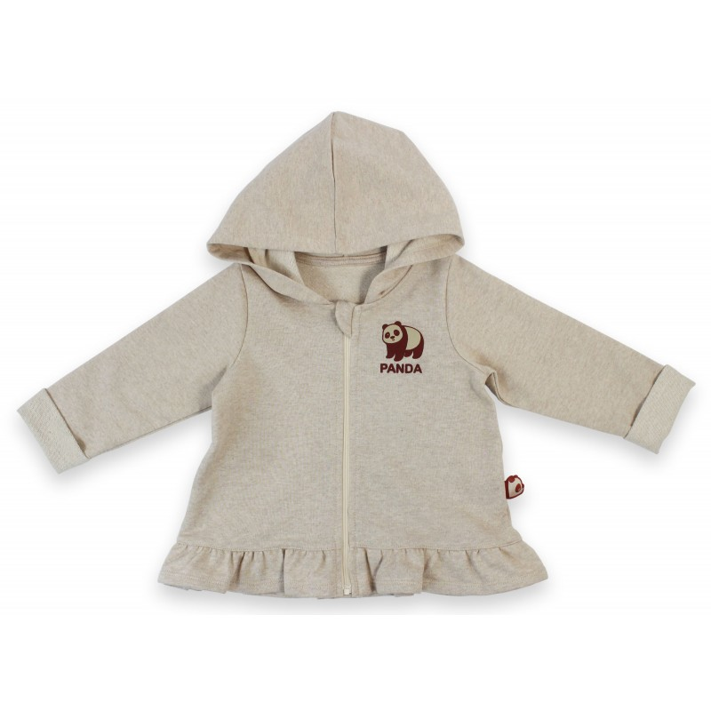 1 PC Girls Hooded Jacket